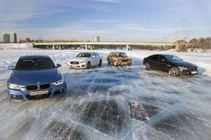 BMW 330i, Infiniti Q50 и Jaguar XE против ВАЗ-2105 «Жигулятор». Дрифтуют все!