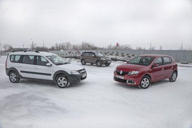 Пособие покупателю: автомобили до800000 рублей. Renault Sandero, Lada Largus Cross и LifanX60