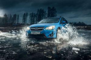 Блиц-тест Subaru XV. Блау блиц