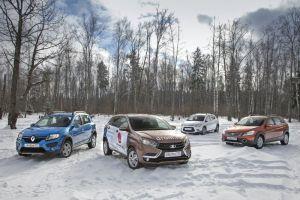 Сравнительный тест LADA XRAY против Dongfeng H30 Cross, Lifan X50 и Renault Sandero Stepway. Кто на новенького?