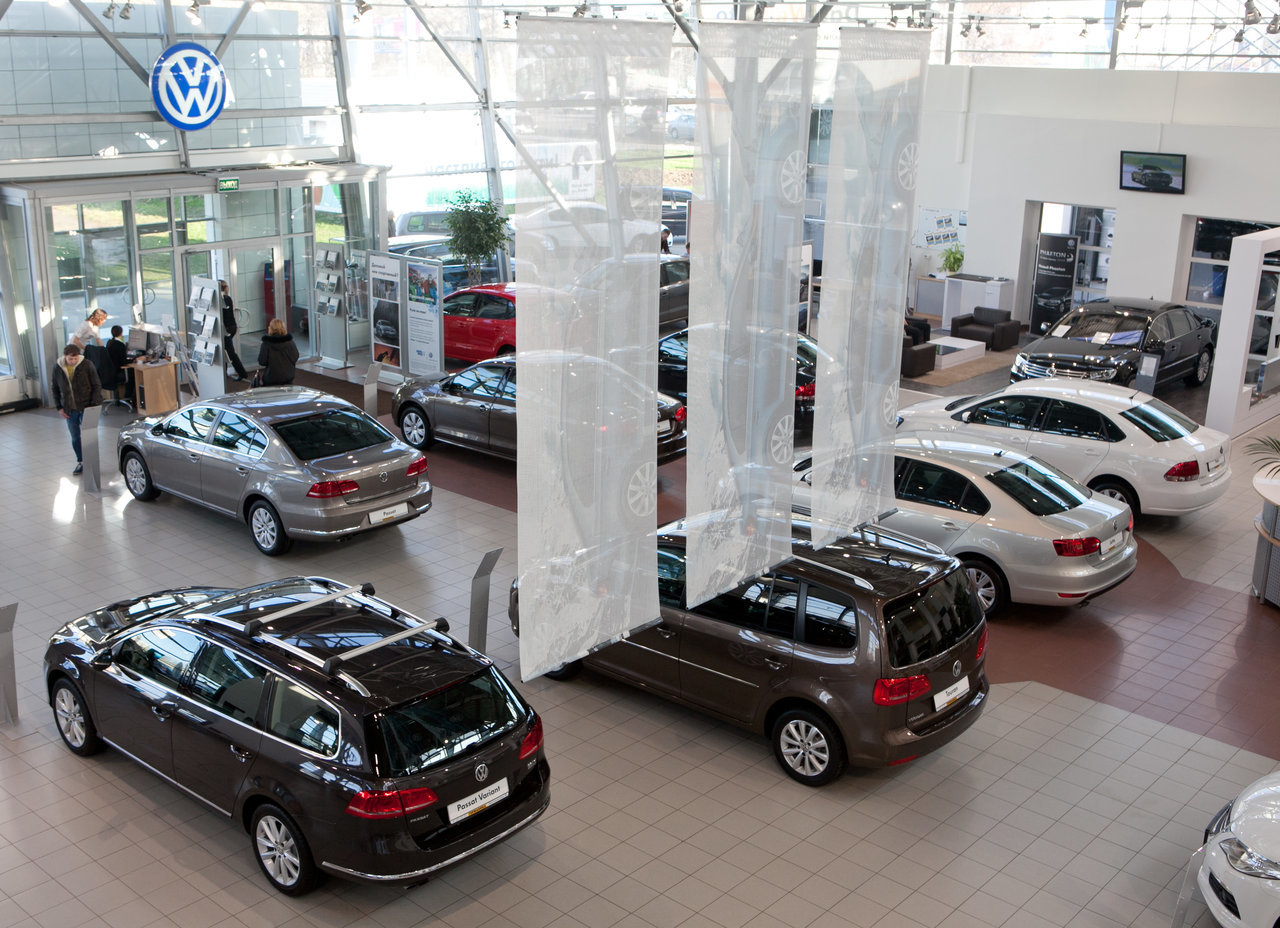 VW АВИЛОН  официальный дилер Фольксваген в Москве