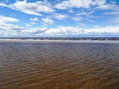 Северодвинск. Остров Ягры. Берег Белого моря.