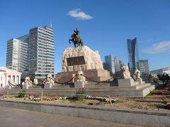 площадь Чингисхана