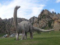 парк динозавров Тэрэлж
