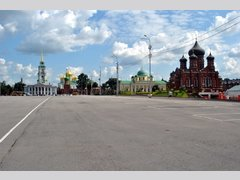 площадь Ленина в г. Тула