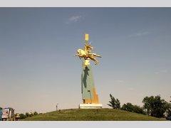 Золотой всадник (Элиста) (Памятник)